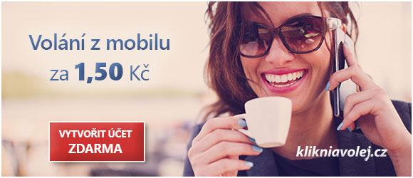 klikniavolej.cz - levné volání z mobilu