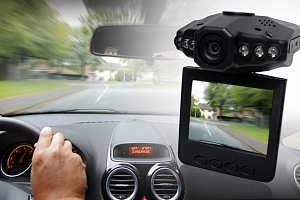 HD kamera do auta...