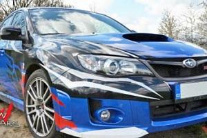 20 minut jízdy ve voze Subaru Impreza WRX STI...