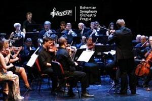 Silvestrovský gala koncert BSOP ve Smetanově síni...