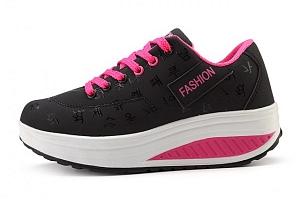 Dámské botasky na vyšší platformě...