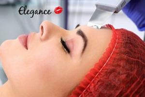 Čištění pleti ultrazvukovou špachtlí  nebo kosmetický balíček služeb...