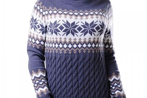 Dámský zimní svetr s rolákem...