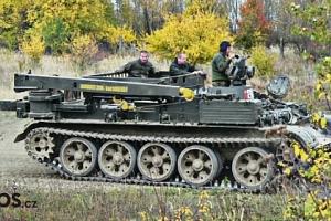 Řízení tréninkového typu tanku nebo tanku VT-55...