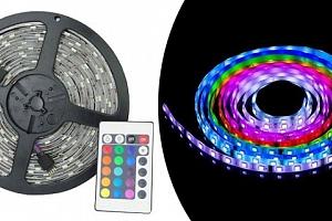 Barevný LED pásek...