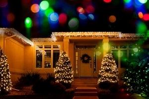Vánoční LED řetěz na stromeček, balkon či terasu...