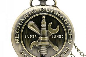 Kapesní hodinky pro mechaniky...