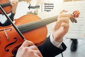 Novoroční koncert BSOP ve Smetanově síni...