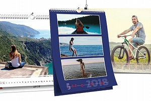 Originální nástěnný kalendář s vašimi fotografiemi...