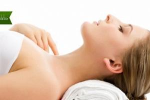 Masáž zad a šíje pro ženy s magnetoterapií...