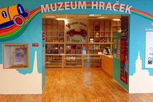 Dětská vstupenka do Muzea Hraček Ostrava...