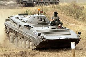 Řízení obrněného transportéru BVP 1...