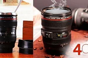 Objektiv - termohrnek pro fotografa...