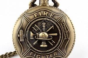 Vintage kapesní hodinky pro hasiče...