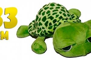 Plyšová želva s velkýma očima...