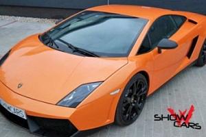 Řidič Lamborghini a Fordu Mustang...