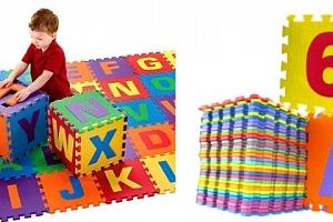 Pěnové puzzle 36 kusů...