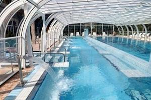 Hévíz s neomezeným wellness s termálními bazény a jezerem...