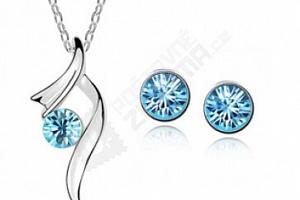 Sada šperků - náušnice a náhrdelník...