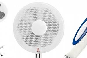 Velký ventilátor na stojanu...