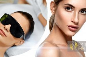 Kosmetické ošetření pleti proti akné, vráskám či pigmentaci...