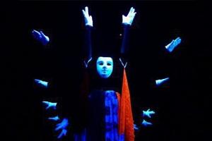 Černé a stínové divadlo  Popelka či Fantom...