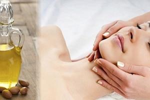 Hodinové kosmetické ošetření pleti s arganovým olejem...