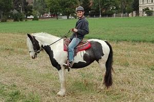 Vyjížďka na koni...