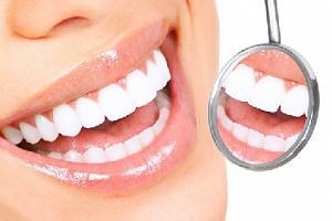 Ordinační bezperoxidové bělení zubů laserem...