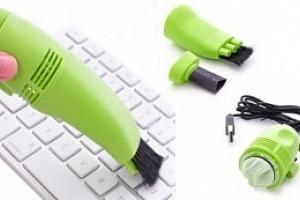 Mini USB vysavač na klávesnici...