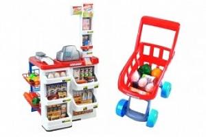 Supermarket obchod s doplňky - velký...