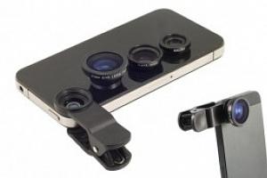 Přídavné objektivy pro smartphony...