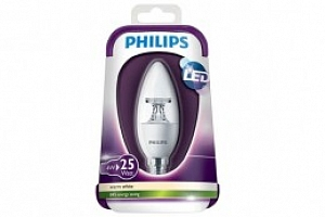LED Žárovka Philips CANDLE E14/4W...