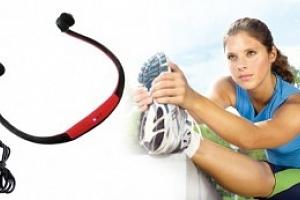 Bezdrátová sluchátka s MP3...