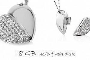 Luxusní USB flash disk 8GB...