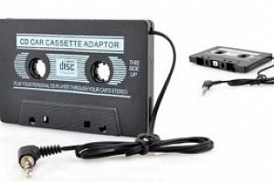 Kazetový adaptér...