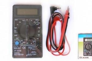 Digitální multimetr DT-830B...