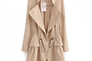 Dámský stylový kabát...