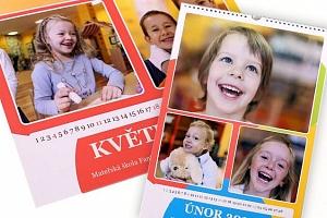 Nástěnný kalendář s vašimi vlastními fotografiemi...