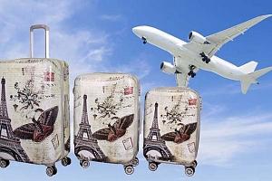 Sada 3 odolných skořepinových kufrů...