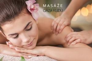 Relaxační masáž zad a šíje nebo masáž lávovými kameny...