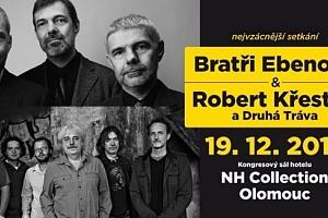 VIP lístek na vzácné setkání Bratří Ebenových s Robertem Křesťanem...