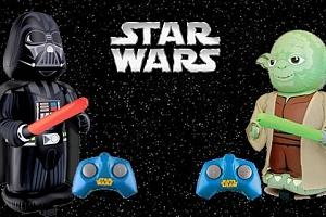 Postavy Star Wars na dálkové ovládání...