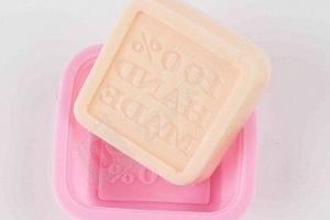 Silikonová forma pro výrobu mýdla s nápisem...