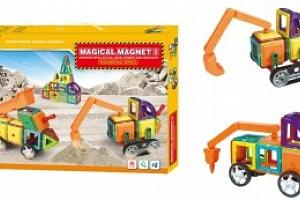 Magnetická stavebnice Magical Magnet162 dílů...