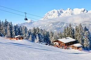 Celodenní lyžovačka v Rakousku...