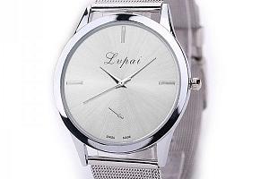 Elegantní hodinky bez číslic...