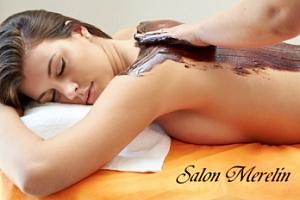 Čokoládová masáž zad + kosmetické ošetření...