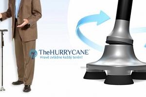 Podpůrná hůl hurrycane, která se stane součástí vašeho těla...