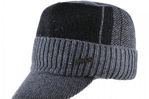 Pánská zimní čepice s kšiltem...